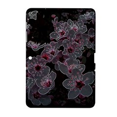 Glowing Flowers In The Dark A Samsung Galaxy Tab 2 (10.1 ) P5100 Hardshell Case