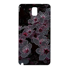 Glowing Flowers In The Dark A Samsung Galaxy Note 3 N9005 Hardshell Back Case