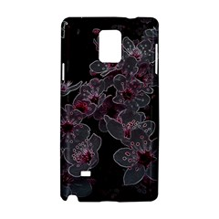 Glowing Flowers In The Dark A Samsung Galaxy Note 4 Hardshell Case
