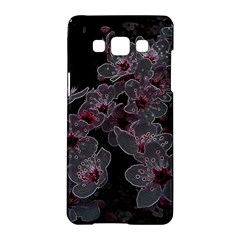Glowing Flowers In The Dark A Samsung Galaxy A5 Hardshell Case