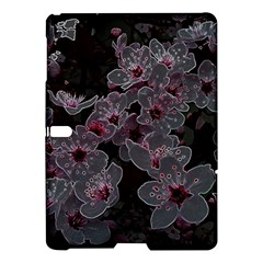 Glowing Flowers In The Dark A Samsung Galaxy Tab S (10.5 ) Hardshell Case