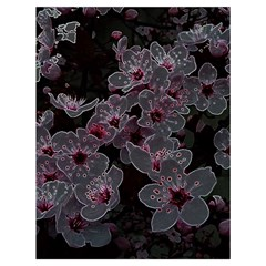 Glowing Flowers In The Dark A Drawstring Bag (Large)