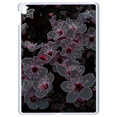 Glowing Flowers In The Dark A Apple Ipad Pro 9 7   White Seamless Case