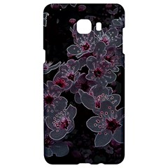 Glowing Flowers In The Dark A Samsung C9 Pro Hardshell Case
