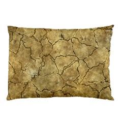 Cracked Skull Bone Surface A Pillow Case