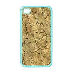 Cracked Skull Bone Surface A Apple iPhone 4 Case (Color)