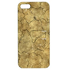 Cracked Skull Bone Surface A Apple iPhone 5 Hardshell Case with Stand