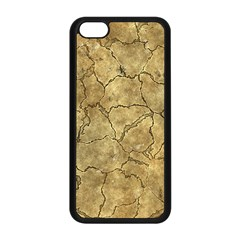 Cracked Skull Bone Surface A Apple iPhone 5C Seamless Case (Black)