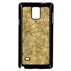 Cracked Skull Bone Surface A Samsung Galaxy Note 4 Case (Black)