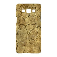 Cracked Skull Bone Surface A Samsung Galaxy A5 Hardshell Case