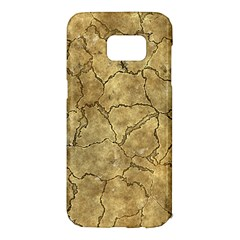 Cracked Skull Bone Surface A Samsung Galaxy S7 Edge Hardshell Case