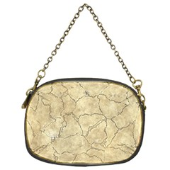 Cracked Skull Bone Surface B Chain Purses (Two Sides)