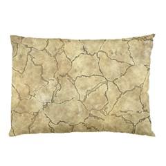 Cracked Skull Bone Surface B Pillow Case