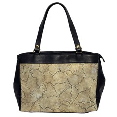 Cracked Skull Bone Surface B Office Handbags