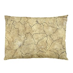 Cracked Skull Bone Surface B Pillow Case (Two Sides)