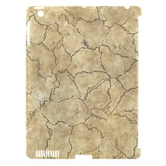 Cracked Skull Bone Surface B Apple iPad 3/4 Hardshell Case (Compatible with Smart Cover)