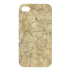 Cracked Skull Bone Surface B Apple iPhone 4/4S Premium Hardshell Case