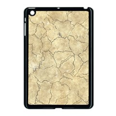 Cracked Skull Bone Surface B Apple iPad Mini Case (Black)