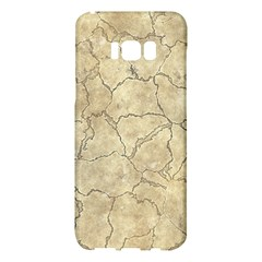 Cracked Skull Bone Surface B Samsung Galaxy S8 Plus Hardshell Case