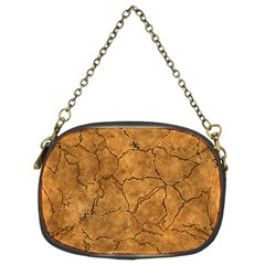 Cracked Skull Bone Surface C Chain Purses (Two Sides)