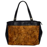Cracked Skull Bone Surface C Office Handbags Front