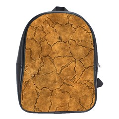 Cracked Skull Bone Surface C School Bags (XL)