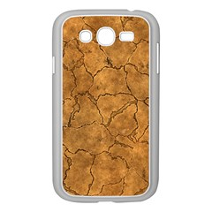 Cracked Skull Bone Surface C Samsung Galaxy Grand DUOS I9082 Case (White)