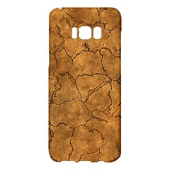 Cracked Skull Bone Surface C Samsung Galaxy S8 Plus Hardshell Case