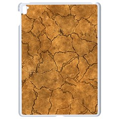 Cracked Skull Bone Surface C Apple iPad Pro 9.7   White Seamless Case