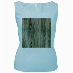 Wooden Structure 3 Women s Baby Blue Tank Top