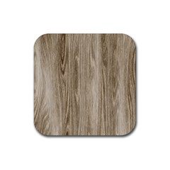 Wooden Structure 3 Rubber Square Coaster (4 pack)