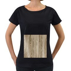 Wooden Structure 3 Women s Loose-Fit T-Shirt (Black)