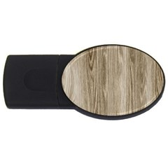Wooden Structure 3 USB Flash Drive Oval (4 GB)
