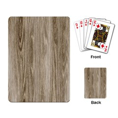 Wooden Structure 3 Playing Card