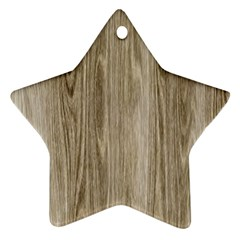 Wooden Structure 3 Star Ornament (Two Sides)