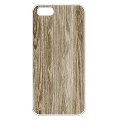 Wooden Structure 3 Apple iPhone 5 Seamless Case (White)