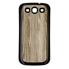 Wooden Structure 3 Samsung Galaxy S3 Back Case (Black)