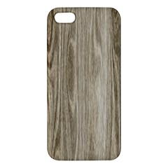 Wooden Structure 3 iPhone 5S/ SE Premium Hardshell Case