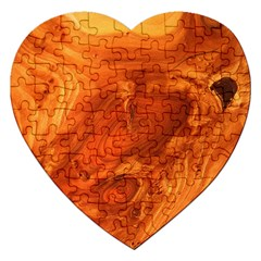 Fantastic Wood Grain Jigsaw Puzzle (Heart)