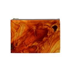 Fantastic Wood Grain Cosmetic Bag (Medium)