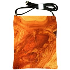 Fantastic Wood Grain Shoulder Sling Bags