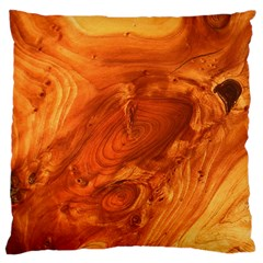 Fantastic Wood Grain Large Flano Cushion Case (Two Sides)