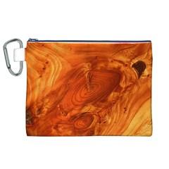Fantastic Wood Grain Canvas Cosmetic Bag (XL)