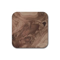 Fantastic Wood Grain Soft Rubber Square Coaster (4 pack)