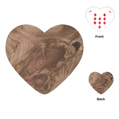 Fantastic Wood Grain Soft Playing Cards (Heart)