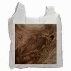 Fantastic Wood Grain Soft Recycle Bag (One Side)