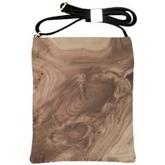 Fantastic Wood Grain Soft Shoulder Sling Bags
