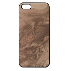 Fantastic Wood Grain Soft Apple iPhone 5 Seamless Case (Black)