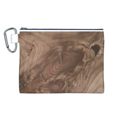 Fantastic Wood Grain Soft Canvas Cosmetic Bag (L)