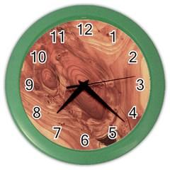 Fantastic Wood Grain,brown Color Wall Clocks